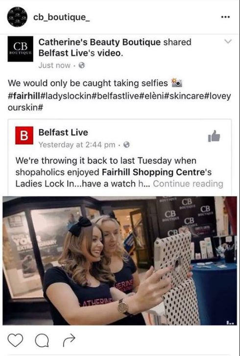 ladies-lock-in-fairhill-shopping-centre-catherines-beauty-boutique-belfast-live